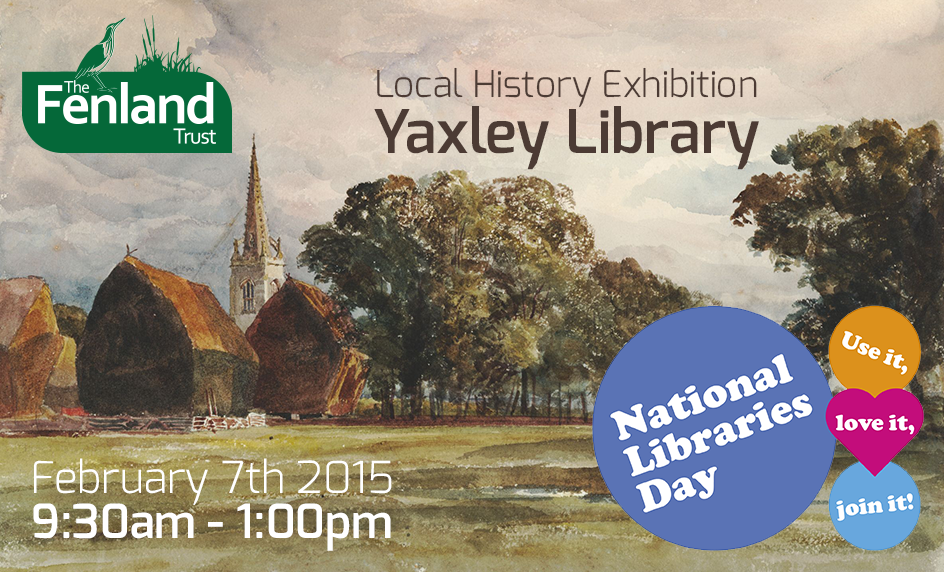 Meet the Fenland Trust at Yaxley Library
