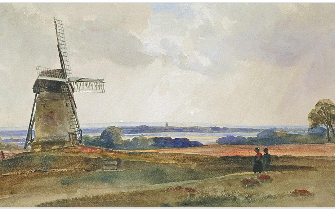 The Fenland Trust identifies De Wint artwork