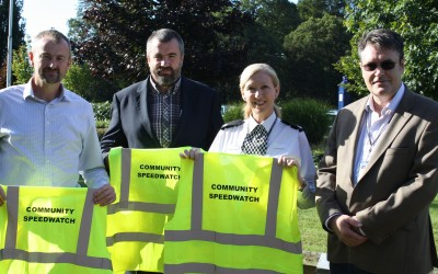 Local company helps regional Speedwatch programme